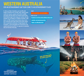 Tourism Western Australia advertorial
